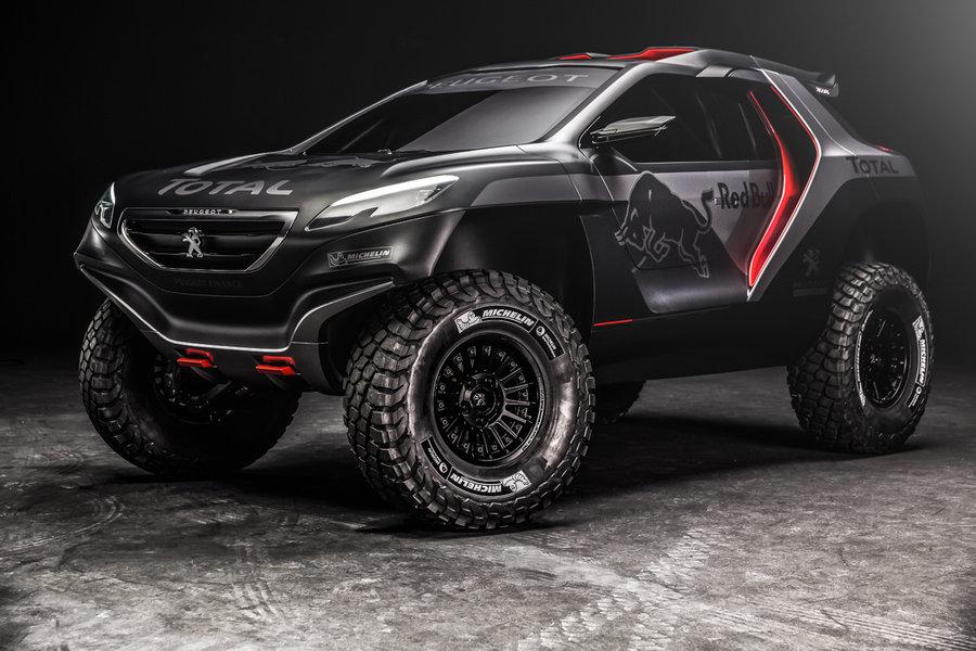 Peugeot chce wygrać Rajd Dakar 2015