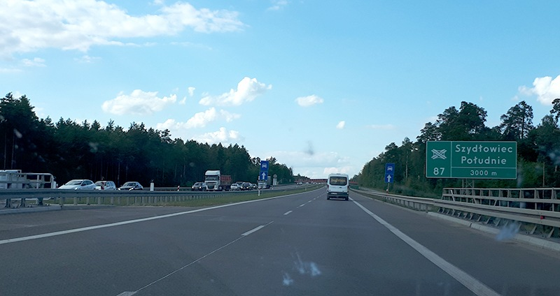 Motorowerem po S7