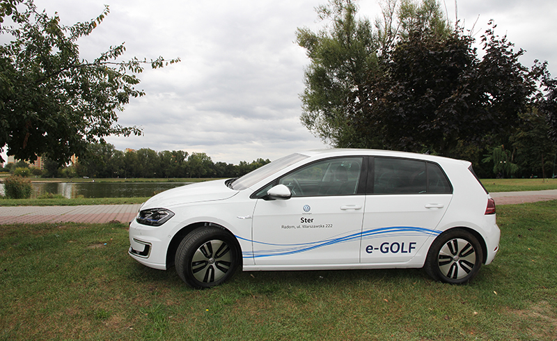 Jeździliśmy elektrycznym Volkswagenem e-Golfem