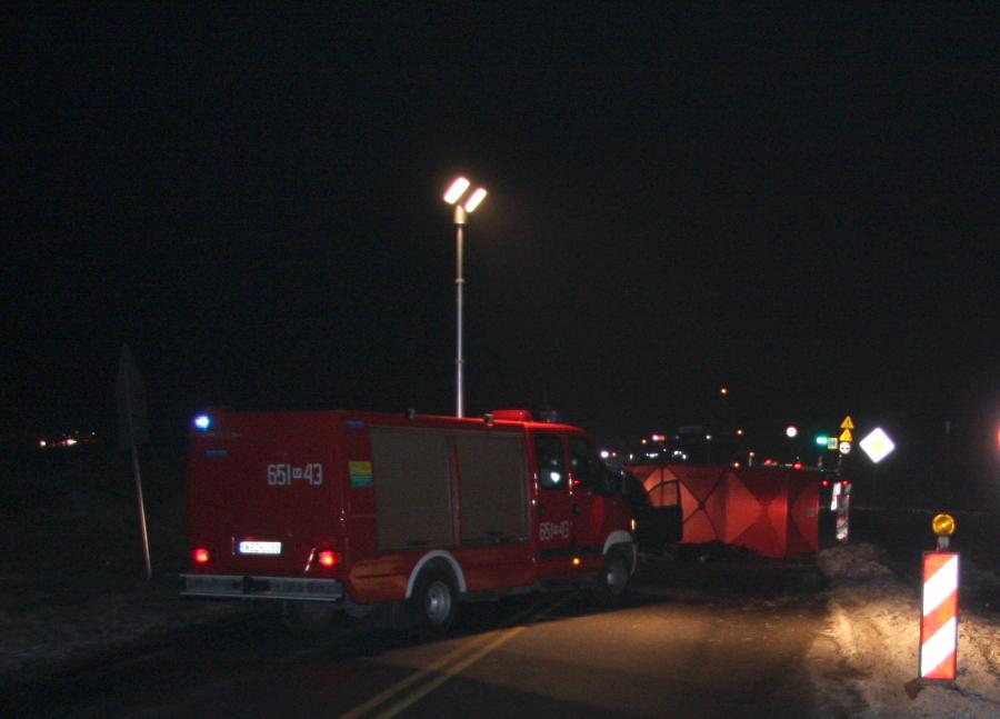 Tragiczny wypadek na obwodnicy Szydłowca