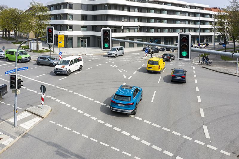 Audi będą płynniej jeździć w miastach