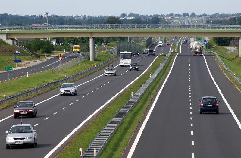 Nową przebudowaną drogą jedziemy od Grójca