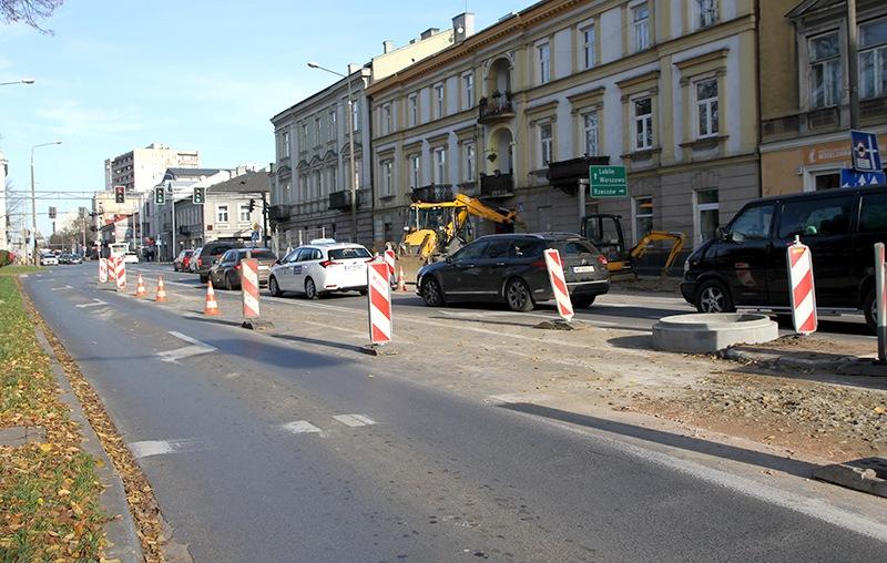 Utrudnienia na ulicach Sienkiewicza i 25 Czerwca