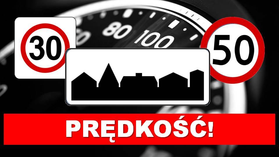 Przekraczanie dozwolonej prędkości: dane szokują!