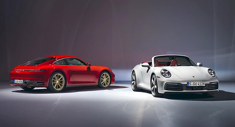 Nowe Porsche 911 Carrera - Coupé i Cabriolet