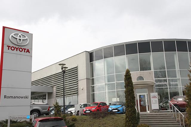 Toyota Romanowski w gronie największych dealerów w Polsce!