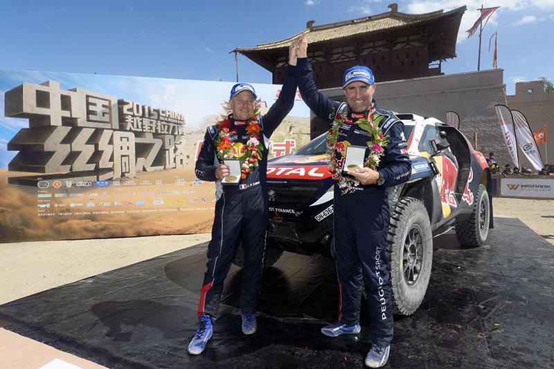 Podwójne zwycięstwo załogi Peugeot Total w Chinach