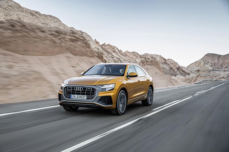 Audi Q8 - czy będzie liderem swojego segmentu?