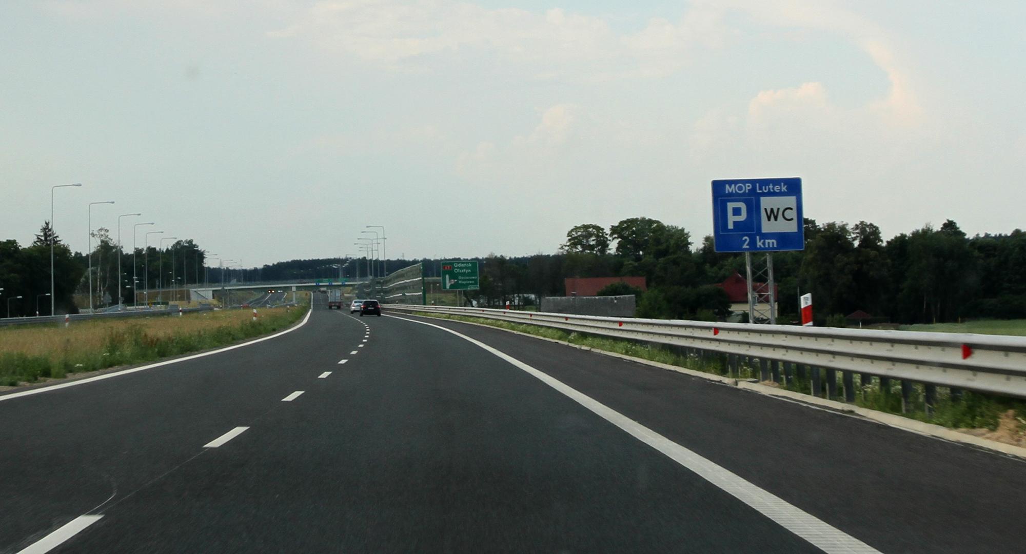 Otwarto kilka MOP-ów przy drogach szybkiego ruchu