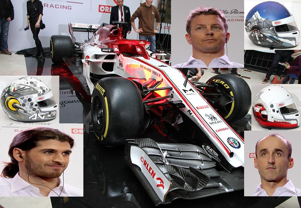 Prezentacja zespołu Alfa Romeo Racing ORLEN Team
