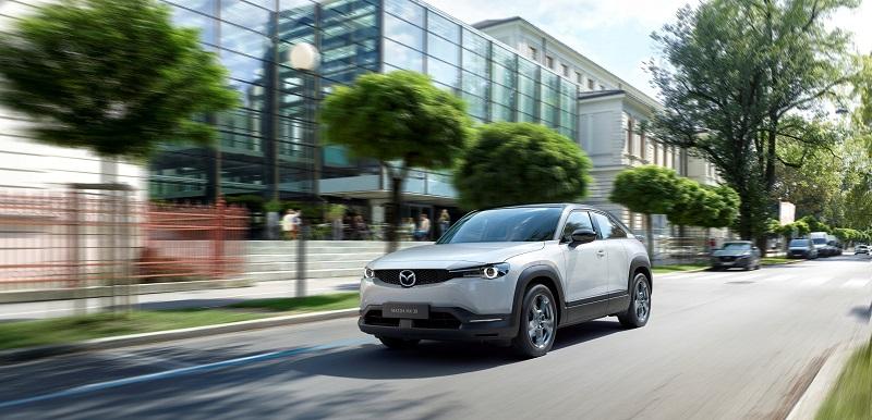 Mazda rozpoczęła produkcję swojego pierwszego modelu o napędzie elektrycznym