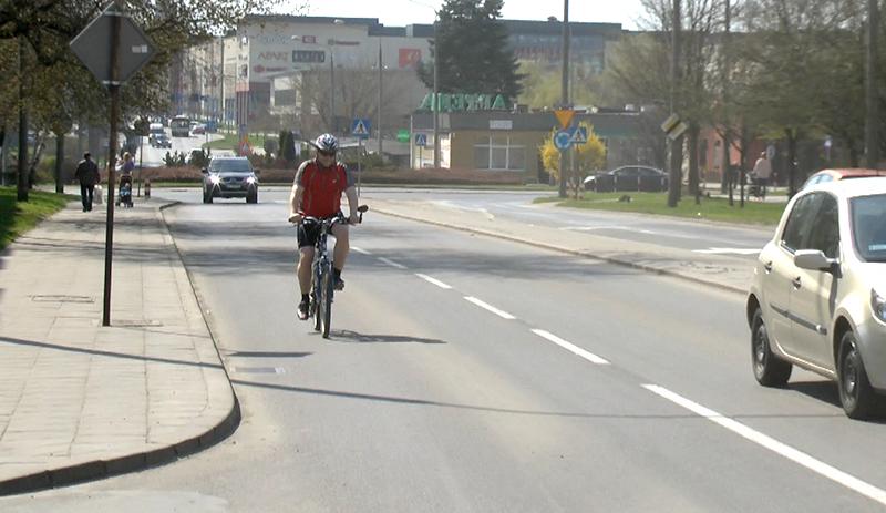 Rowerzyści pod lupą białobrzeskich policjantów